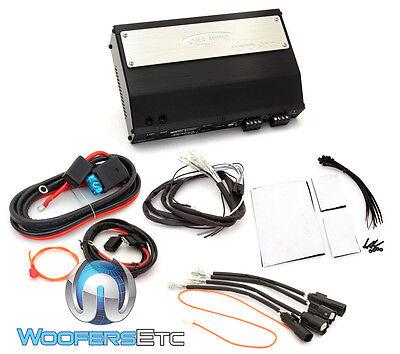 Arc Audio Mpak10 Motorcycle Roadglide Audio 4 Channel Amplifier Hd 8 Gauge Kit