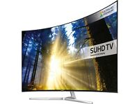 SAMSUNG UE55KS9000 QUANTUM DOT DISPLAY SMART LED SUHD HDR 2400 PQI FREESAT &FREEVIEW HD!!