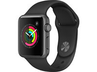 Brand New Sealed Box Apple Watch 38mm space gray