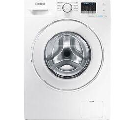 New SAMSUNG ecobubble WF80F5E2W4W Washing Machine - White