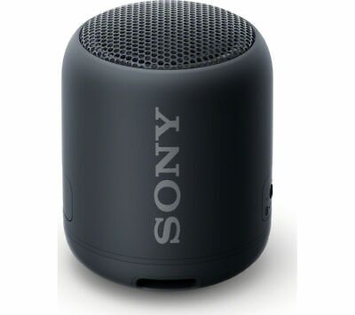 SONY EXTRA BASS SRS-XB12 Portable Bluetooth Speaker - Black - Currys