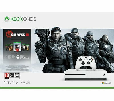 MICROSOFT Xbox One S 1TB - White MISSING ACCESSORIES