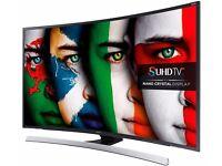 SAMSUNG 48'' CURVED SMART 4K SUPPER ULTRA 3D LED TV.UE48JS8500. FREESAT HD. FREE DELIVERY/SETUP