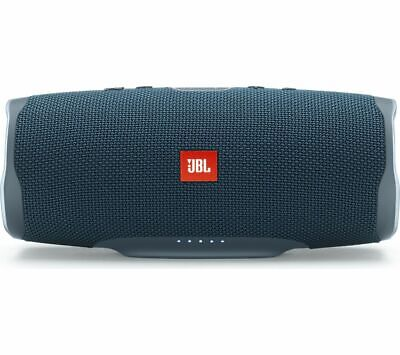 JBL Charge 4 Portable Bluetooth Speaker - Blue - Currys