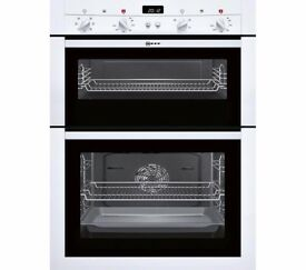 New DOUBLE OVEN NEFF U14M42W3GB Electric White Was: £549.99