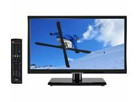 """New LOGIK L20HE15 20"""" LED TV HD Ready 720p with Freeview Was: £99.99"""