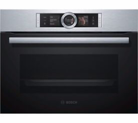EX-DISPLAY BOSCH BUILT-IN COMPACT STEAM OVEN REF: 31309