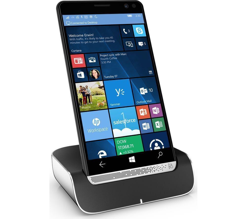 HP ELITE X3 Windows Smartphone, Dual Sim, Factory Unlocked, 4G  Win 10,  64gb UK