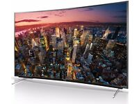 PANASONIC VIERA TX55CR430B 55 inch Curved 4K Ultra HD 3D Smart LED TV Freeview HD