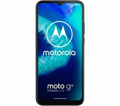 Android Phone - MOTOROLA Moto G8 Power Lite - 64 GB Mobile Smart Phone Royal Blue - Currys