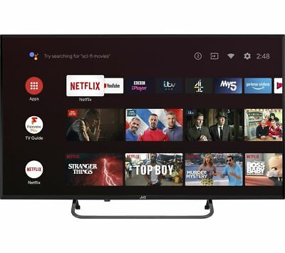 "JVC LT-43CA790 Android TV 43"" Smart Full HD LED TV Google Assistant - Currys"