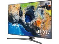 NEW SAMSUNG 65 SMART UHD HDR 4K 1600PQI FREESAT & FREEVIEW FLAT SCREEN HD