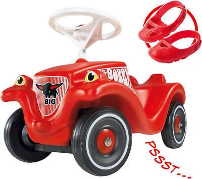 BIG Bobby-Car inkl. Flüsterräder und Schuhschoner, Kunststoff, rot, ab 12 Mona