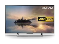 Sony 49 inch HDR 4K LED Smart TV with wifi, Miracast & Freeview Play