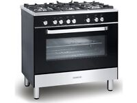 KENWOOD CK305-1 Dual Fuel Range Cooker - Black - AVAILABLE MID AUGUST