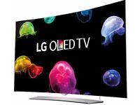 "LG 55"" OLED Curved Screen 3D ULTRA HD Smart TV web0S.2.0 WiFi"
