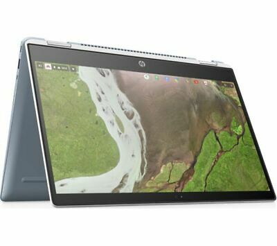 HP x360 14-da0502na 14in 2-in-1 White Chromebook - Intel Pent Gold 4415U 4GB RAM