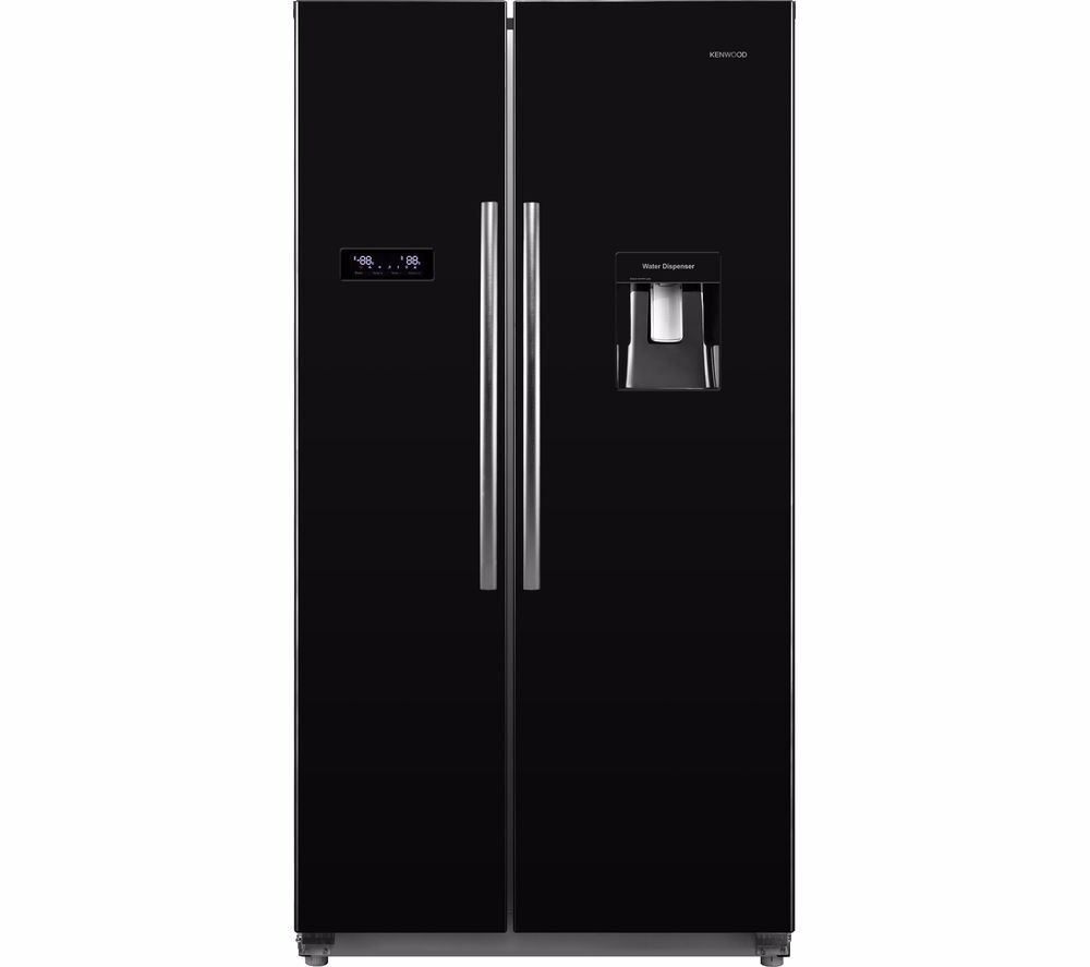 KENWOOD American Style Fridge FreezerBlackin Southwick, East SussexGumtree - KENWOOD American Style Fridge Freezer Black Offering generous storage space with a stylish finish in black, the Kenwood KSBSdB15 American Style Fridge Freezer is ideal for keeping your groceries chilled and frozen. Big capacity This family sized side...