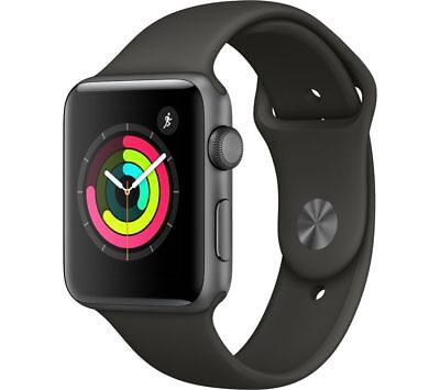 Apple Watch Series 3 - 42 Mm Space Grey & Grey (Sports Band)