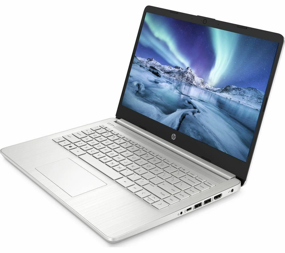 "Laptop Windows - HP 14s-dq1504sa 14"" Laptop i5 10Th Gen  8GB / 256 GB SSD  Silver - Windows 10"
