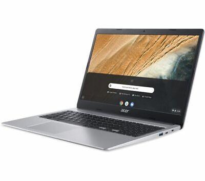 ACER CB315-3HT 15.6in Silver Chromebook - Intel Pentium Silver N5000 4GB RAM 64G