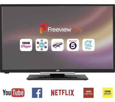 """JVC LT-32C670 32"""" Smart LED TV webOS Built-in WiFi  Freeview HD A+"""