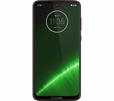 "MOTOROLA G7 Plus 64GB 6.2"" Unlocked Android Smartphone UK Version - Red"