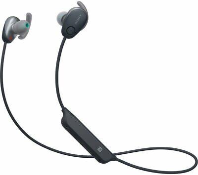 SONY WI-SP600N SPORTS IN-EAR WIRELESS BLUETOOTH HEADPHONES RECHARGEABLE BLACK