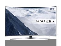 49'' SAMSUNG CURVED SMART LED HDR ULTRA HD LED TV.UE49KU6670.FREESAT HD. FREE DELIVERY/SETUP