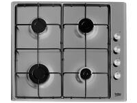 NEW BEKO GAS HOB RRP £131 SELLING FOR £85 TEL 07914004435