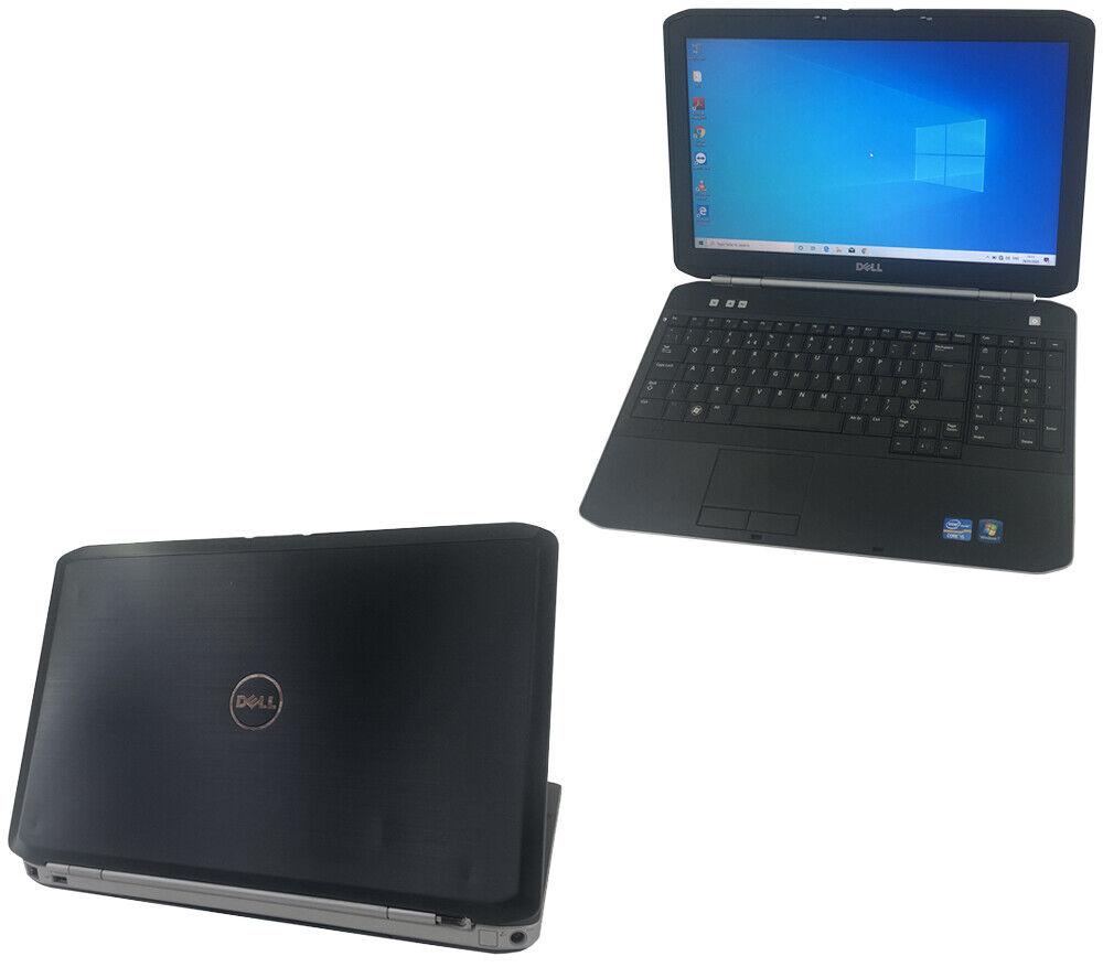 "Laptop Windows - Dell Laptop Windows 10 15.6"" Latitude E5520 Core i3 2.10GHz 16GB Ram SSD HDMI"