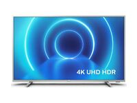 TV 4K Ultra Slim LED TV Ambilight (Television including Wall Mounting)