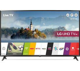 "NEW LG TV 55"" 4K UHD Smart TV with BROKEN SCREEN"
