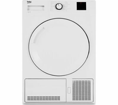 BEKO DTBC8001W 8 kg Condenser Tumble Dryer - White - Currys