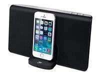 New GOJI GRLIB14 Portable Speaker Dock Apple Lightning Connector 8 Hrs Battery Life