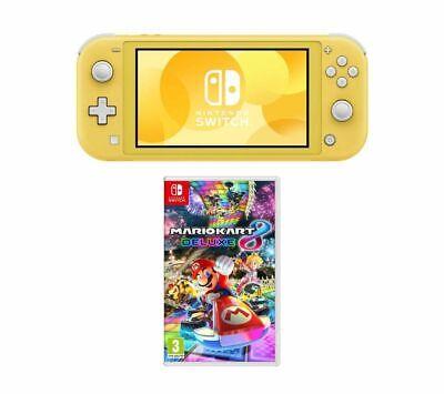 NINTENDO Switch Lite & Mario Kart 8 Deluxe Bundle - Yellow