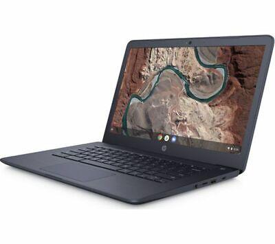 GradeB - HP 14-db0500sa 14in Blue Chromebook - AMD A4-9120 4GB RAM 32GB eMMC - C
