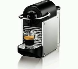 Nespresso Pixie espresso machine in box