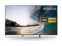 "SONY BRAVIA 43"" Smart 4K Ultra HD HDR LED TV"