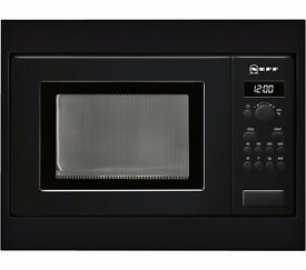 New NEFF H53W50S3GB Built-in Solo Microwave Black 800W 17L Was: £249.99