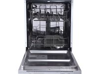 Essentials Integrated Dishwasher Brand New Ex Display 6 month warranty and pat tested **CID60W16 **