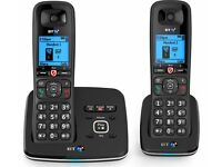 BT 6600 Nuisance Call Blocker Cordless Home Phone - Twin Handset Pack