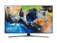"SAMSUNG 55"" Smart 4K Ultra HD HDR LED VOICE CONTROL FLAT SCREEN TV"