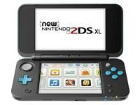 Nintendo 2DS XL with digital games installed