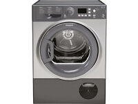 Brand New 8kg Hotpoint Aquarius FTCF87BGG Condenser Tumble Dryer in Grey for sale RRP £380