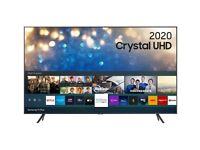 "SAMSUNG UE55TU7100KXXU 55"" Smart 4K Ultra HD HDR LED TV (Rrp £450)"