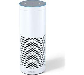 White amazon Echo for sale great condition...
