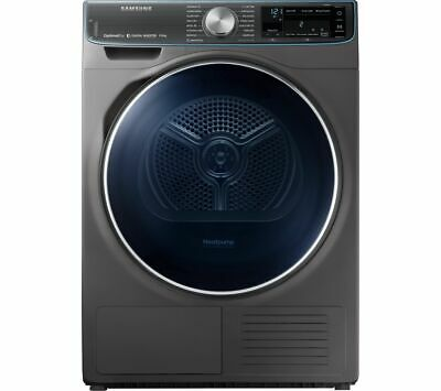 SAMSUNG DV90N8288AX Smart 9 kg Heat Pump Tumble Dryer - Graphite - Currys