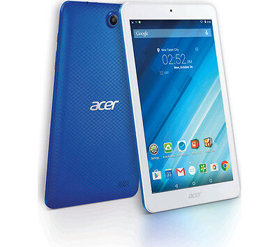 """Image of Acer Iconia One B1-850 8"""" Tablet 16gb &roid 5.1 (lollipop)  Blue"""