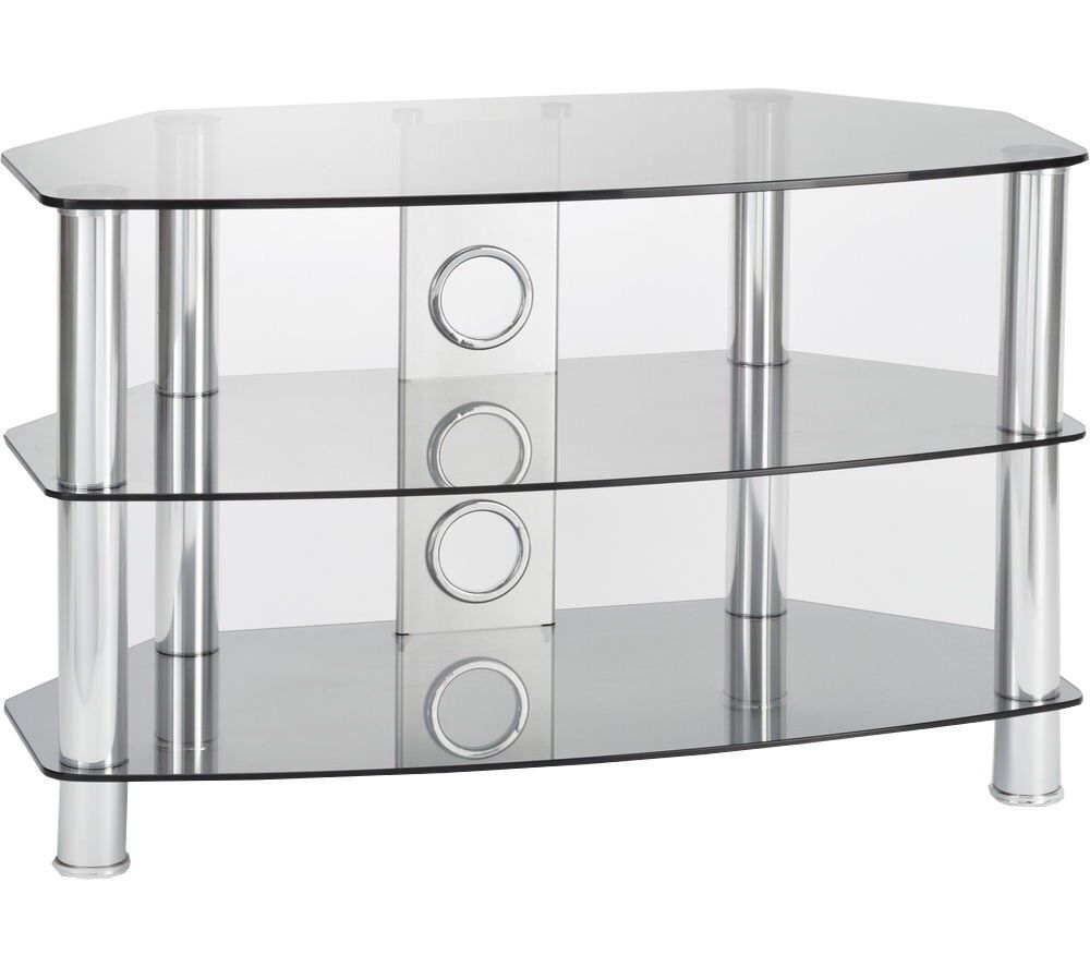 *NEW and boxed* TTAP Vantage 1200 TV Stand - Chrome & Grey